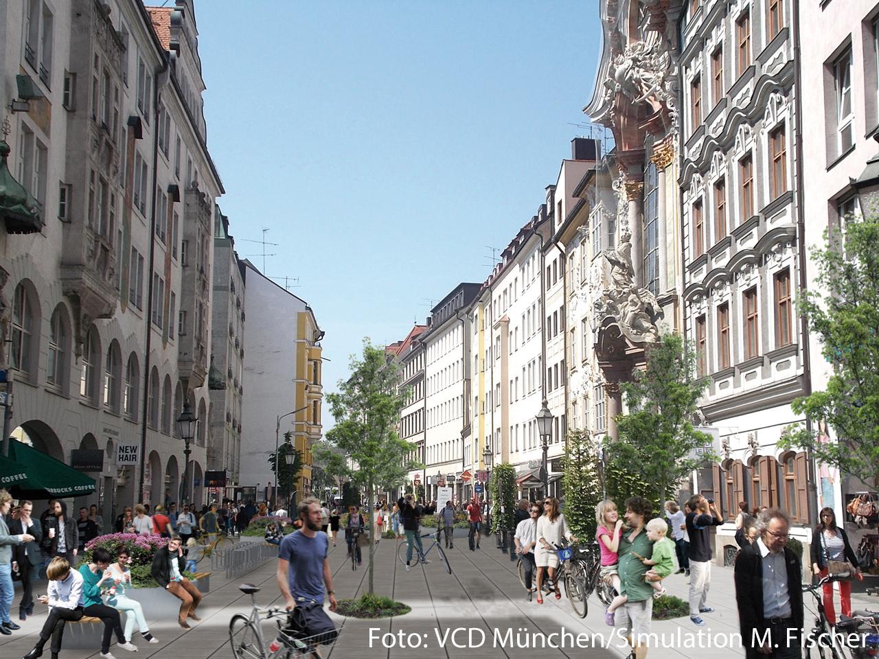 Fairkehr Magazin Wege Für Fußgänger